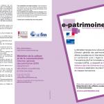 e-patrimoine 2014-flyer