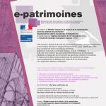 e-patrimoines-2014-affiche