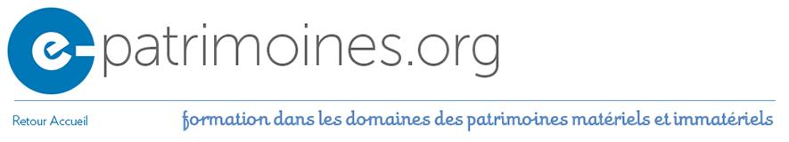 e-patrimoine Logo